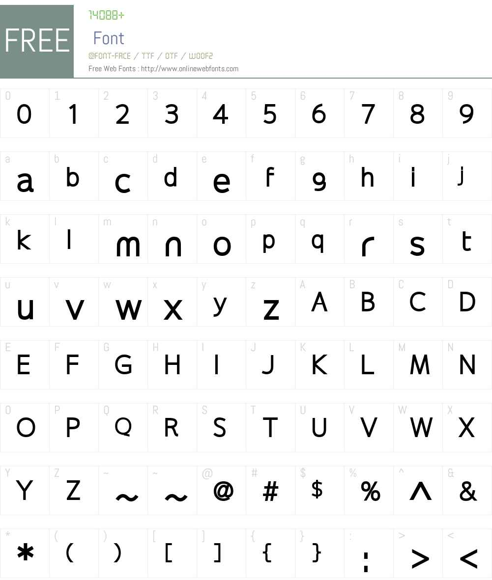 Extremame Font Screenshots