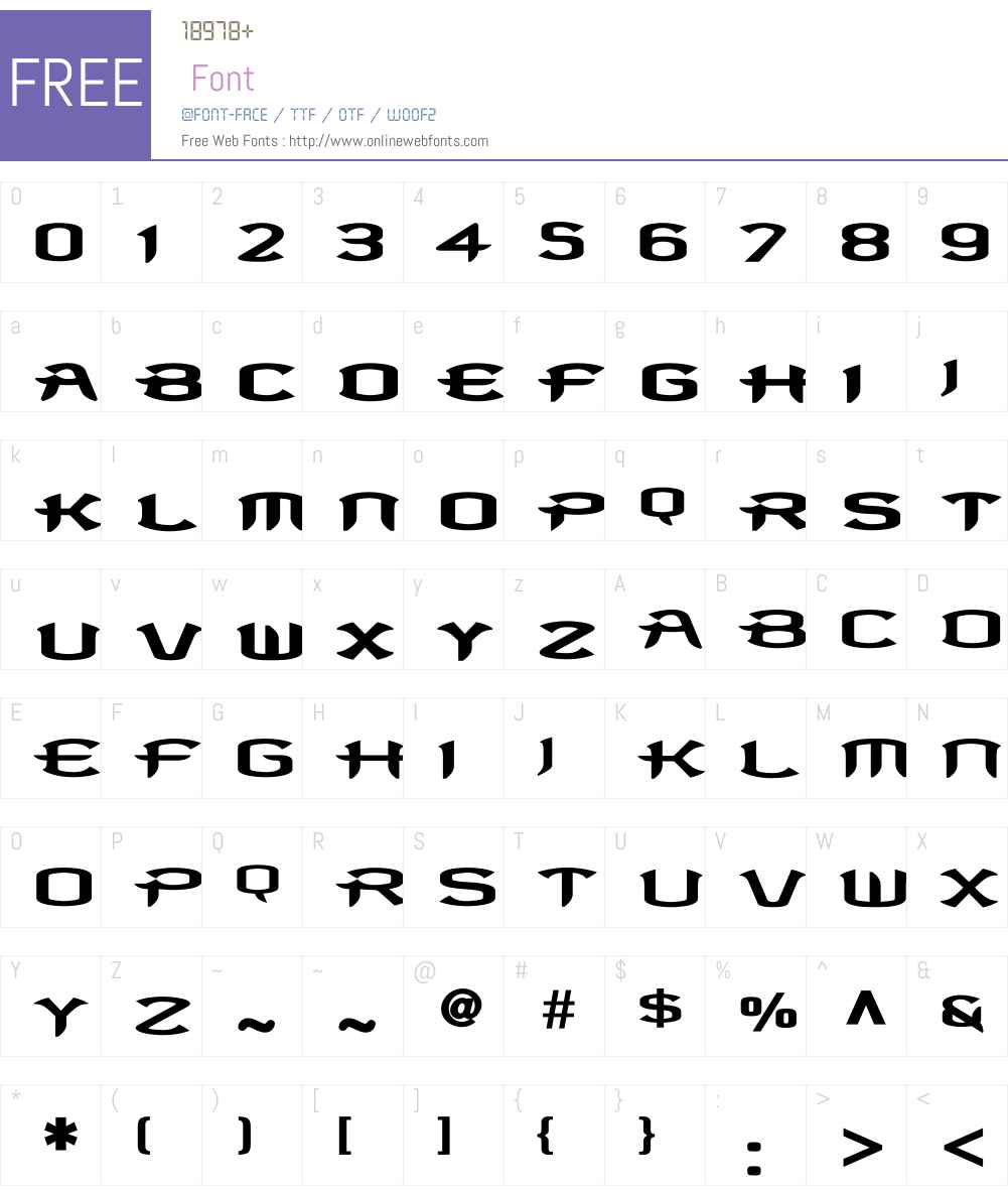 Antigen Bold Font Screenshots