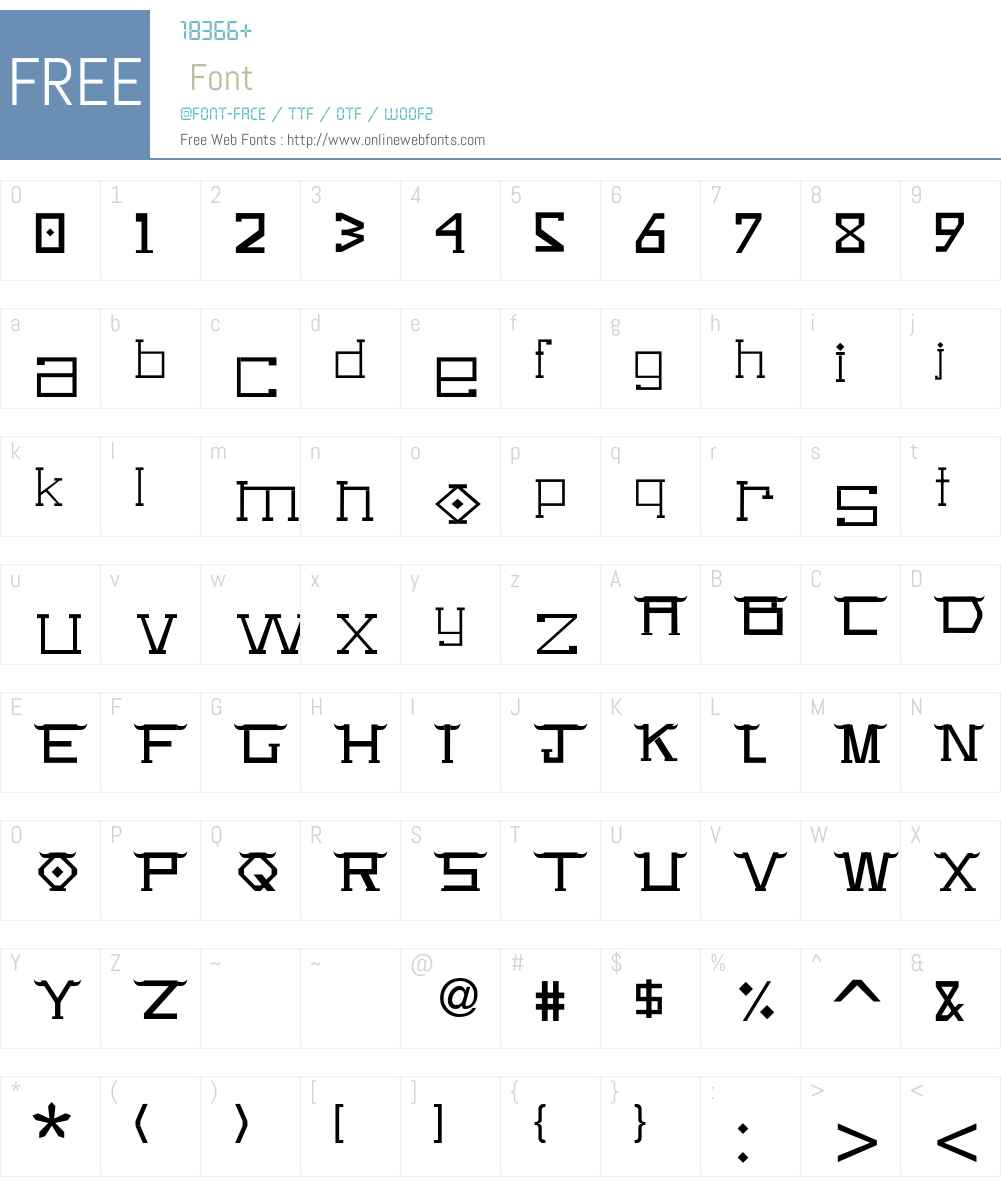 FreeSans Font Screenshots