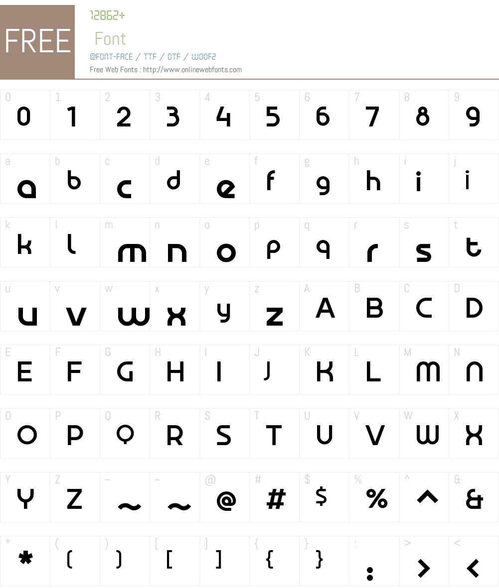 AldransW00-Medium Font Screenshots