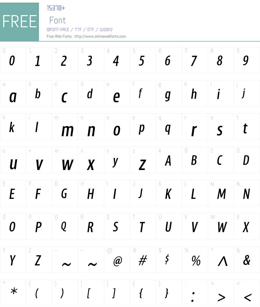 MaryToddW00-Italic Font Screenshots