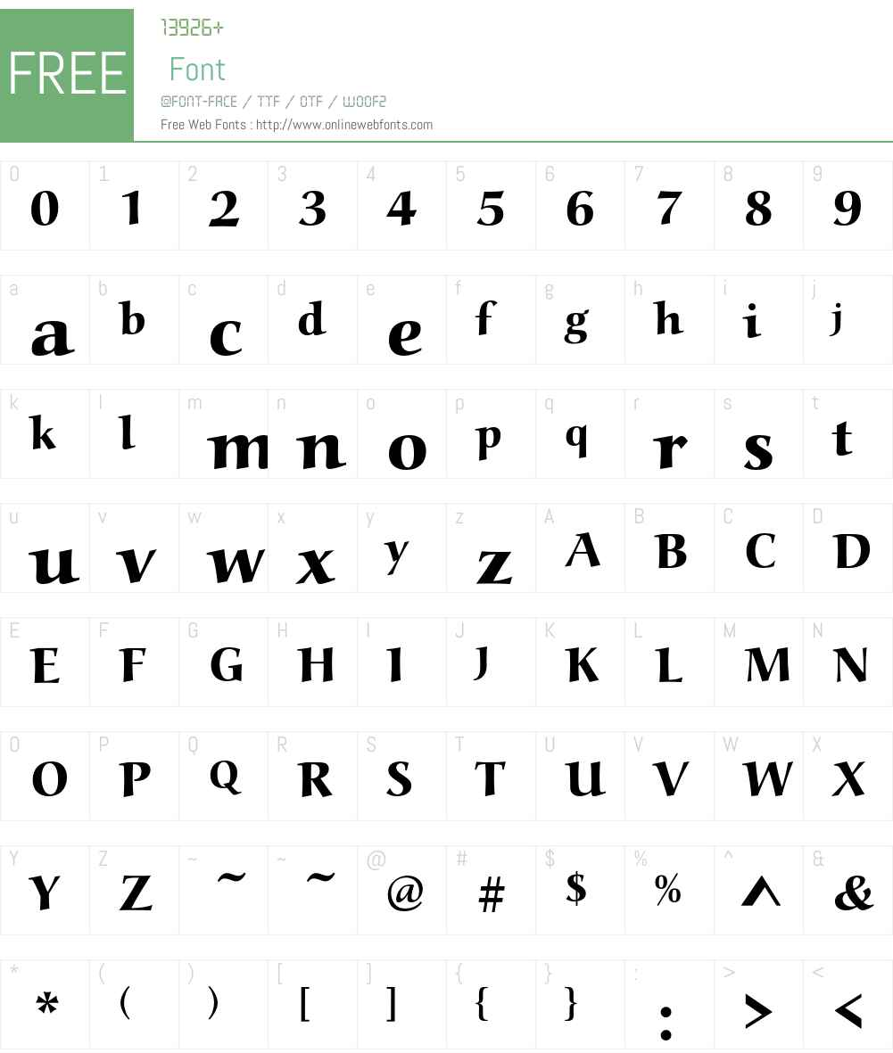 AlcuinEF Font Screenshots