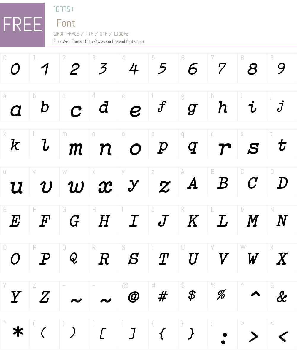 Elementa Font Screenshots