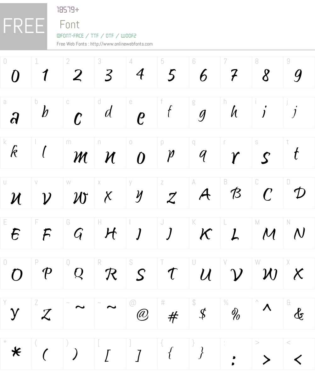 SunettaW01-Flair Font Screenshots