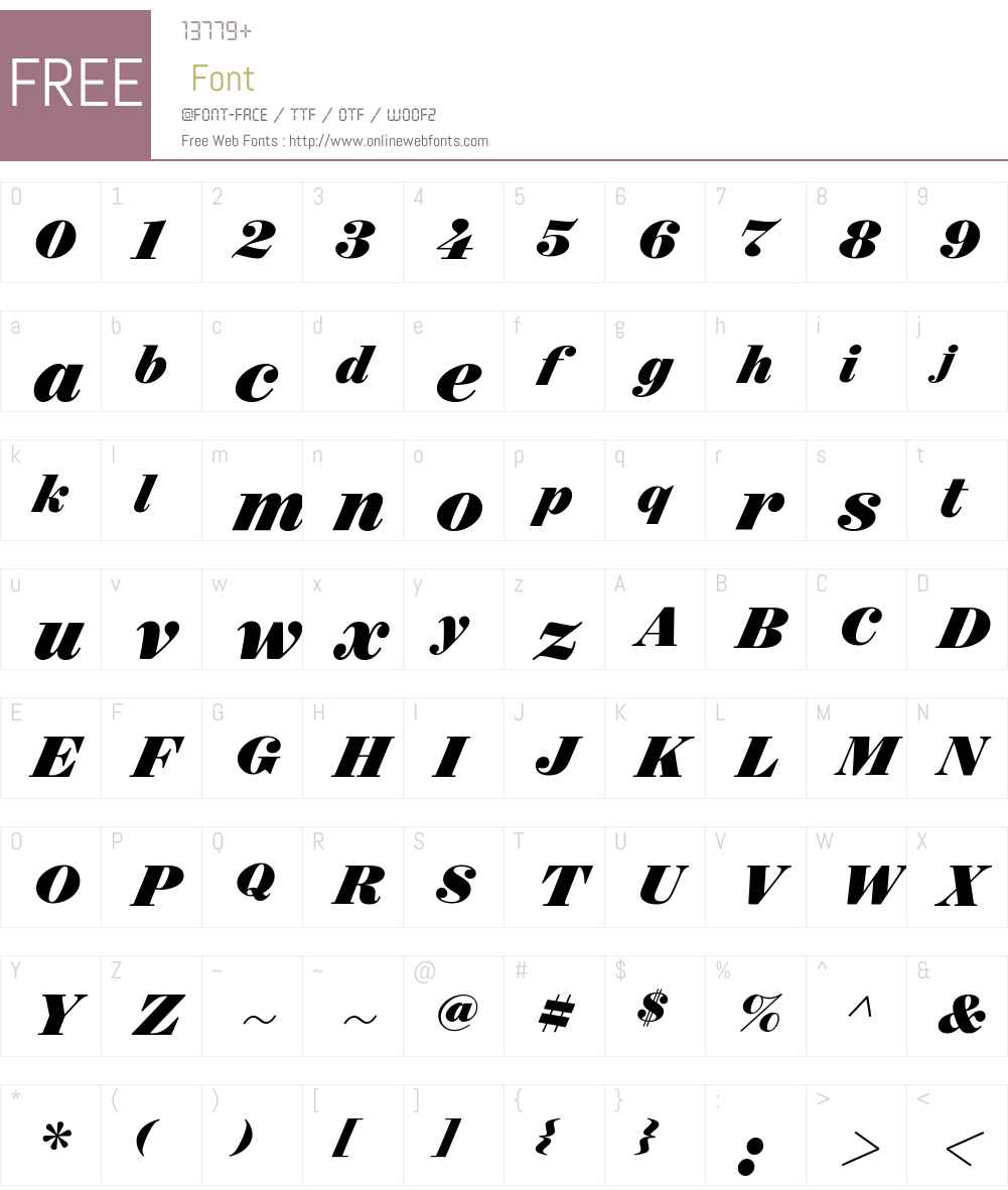 Surveyor Display Black Font Screenshots