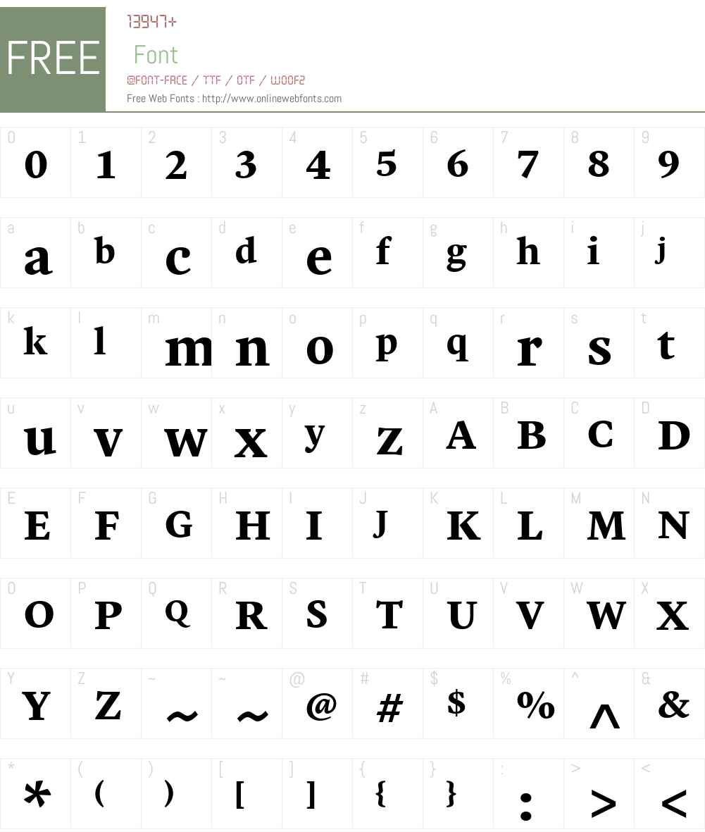 Malabar Font Screenshots