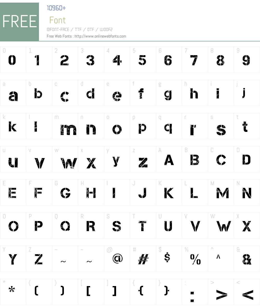 Capture Smallz Font Screenshots