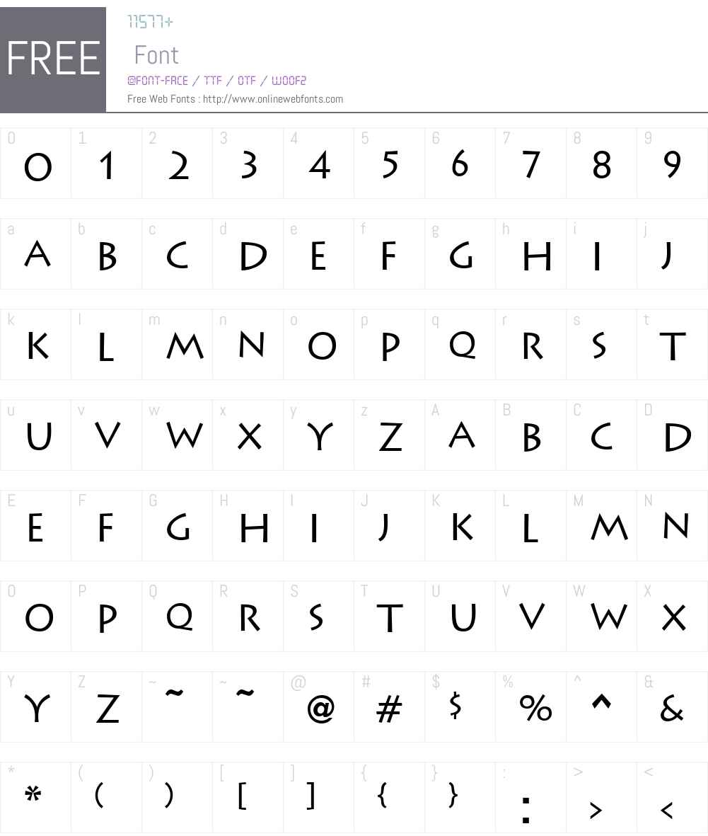 Liddie Font Screenshots