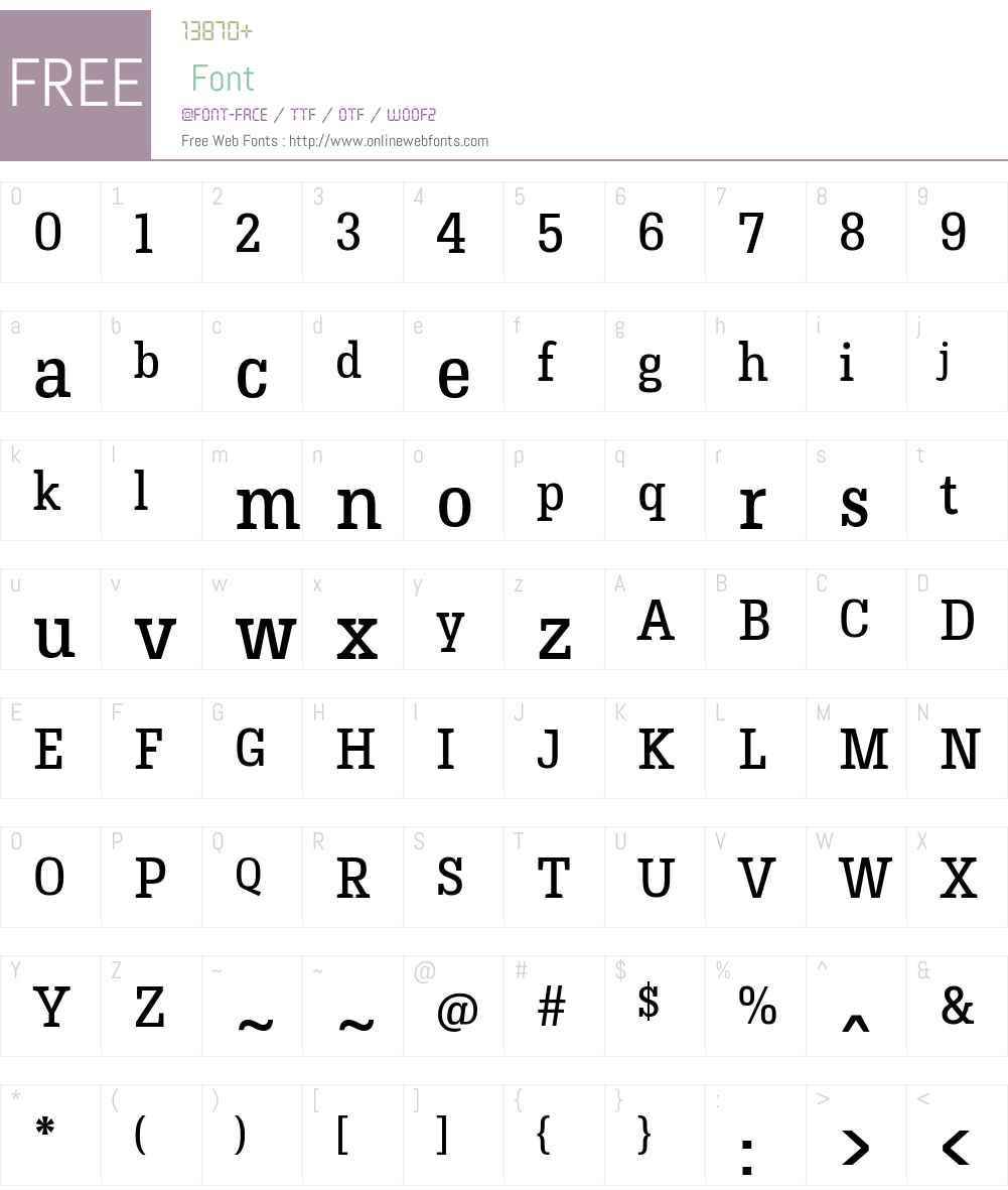 Hermeneus One Font Screenshots