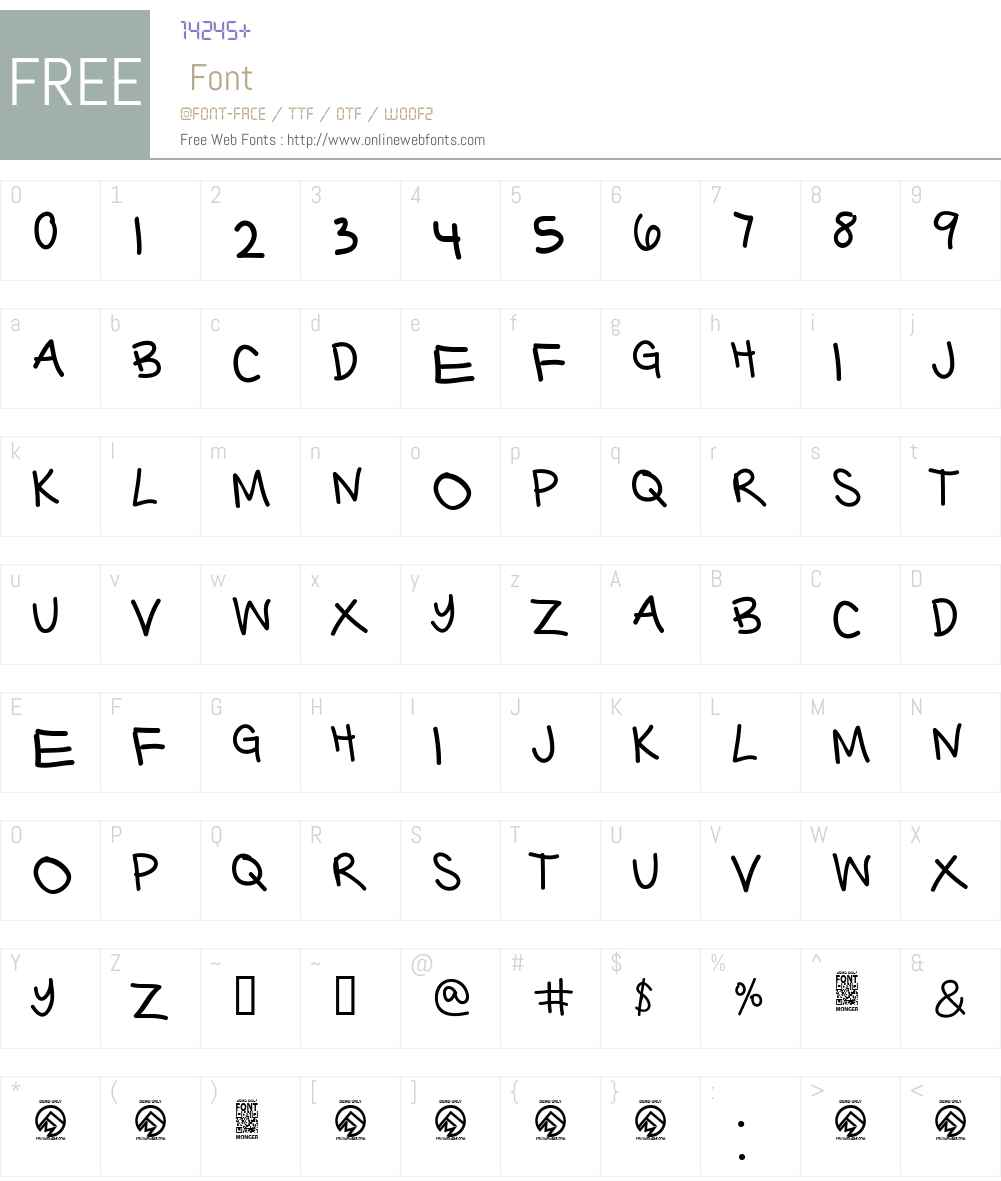 Barter with a Gypsy Thin Font Screenshots