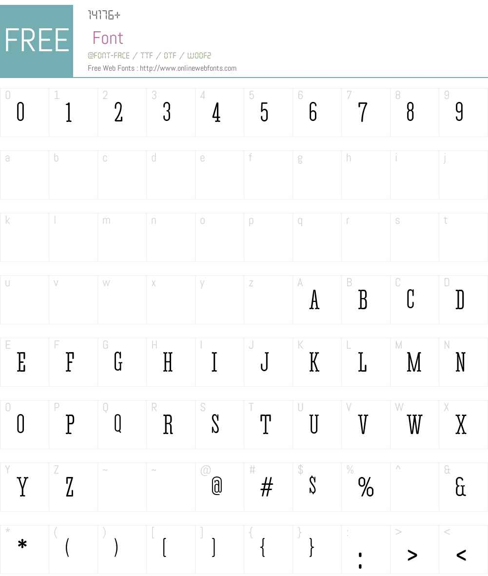 Corki Rounded Touscan Font Screenshots