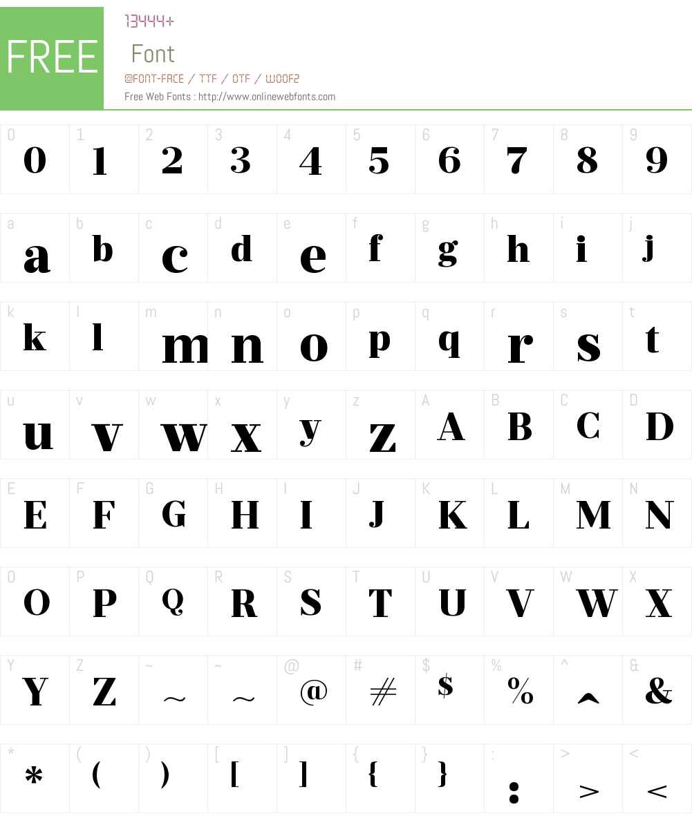 PrumoDeckW00-ExtraBold Font Screenshots