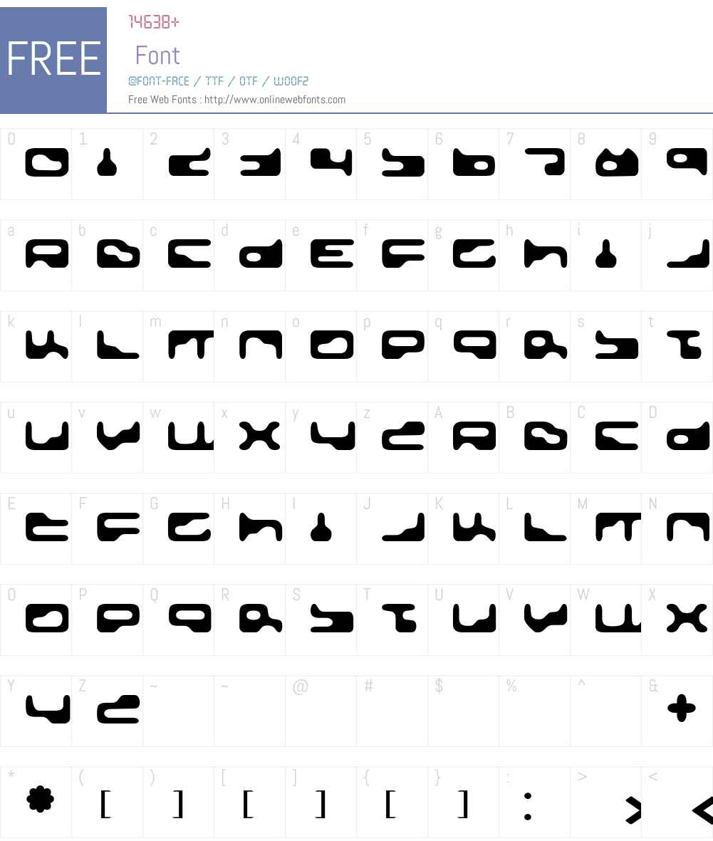 GoldenGirdle Font Screenshots