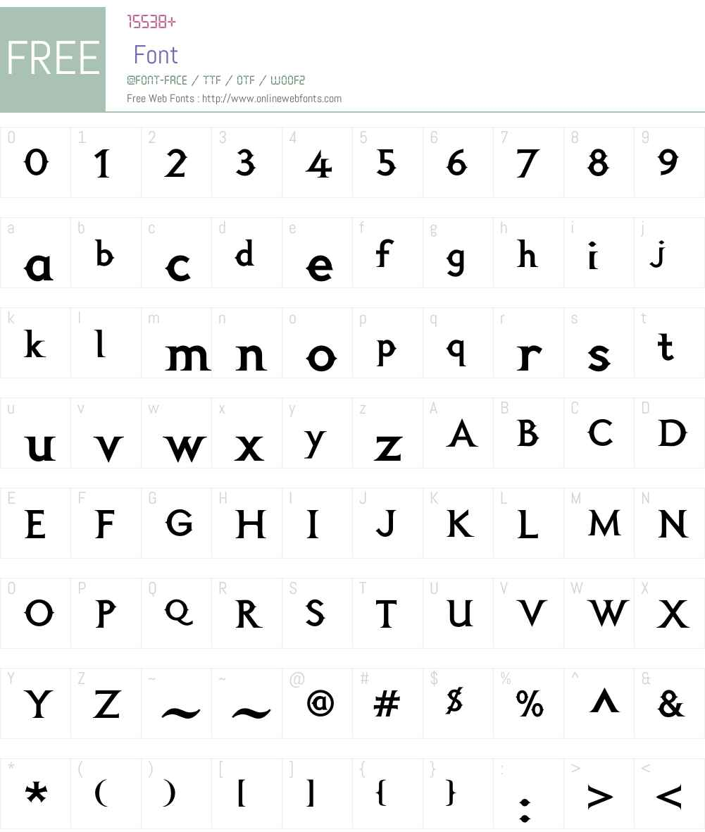 FelinaT26 Font Screenshots