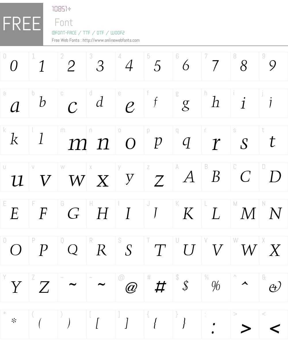 Triumph Font Screenshots