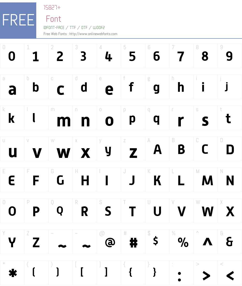 Alwyn New Font Screenshots