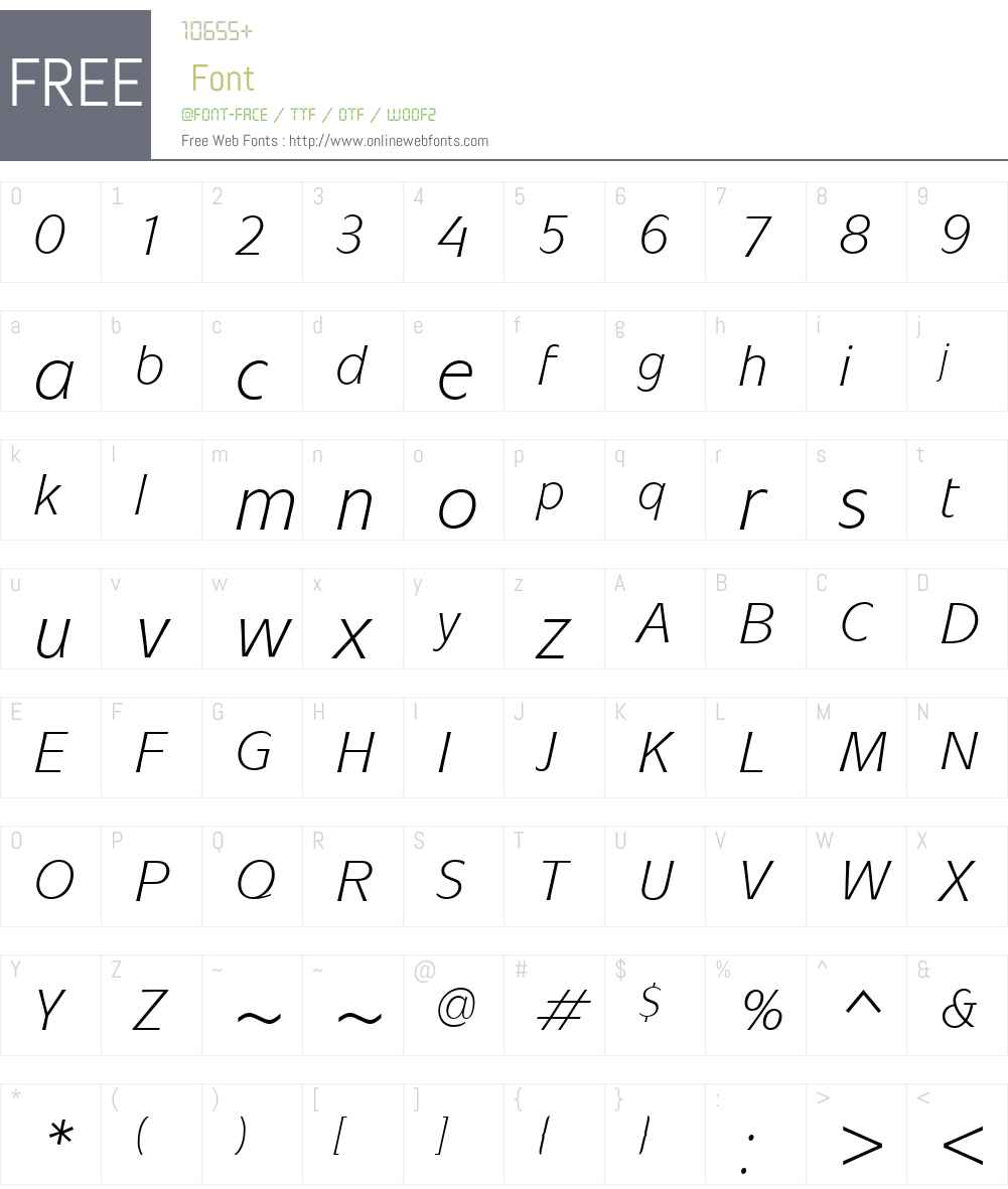 ITCMixageW01-BookItalic Font Screenshots