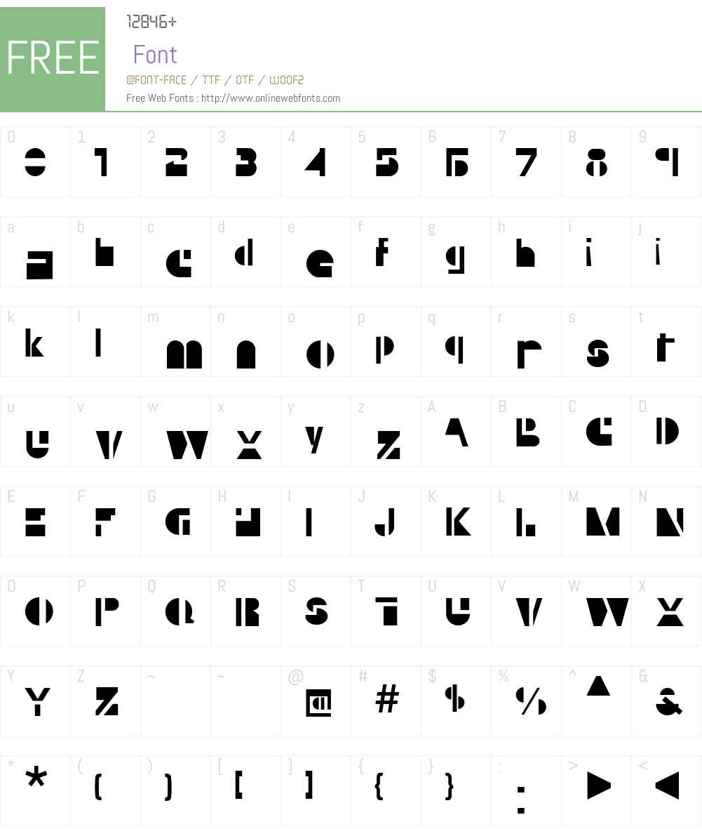 Yubi Font Screenshots