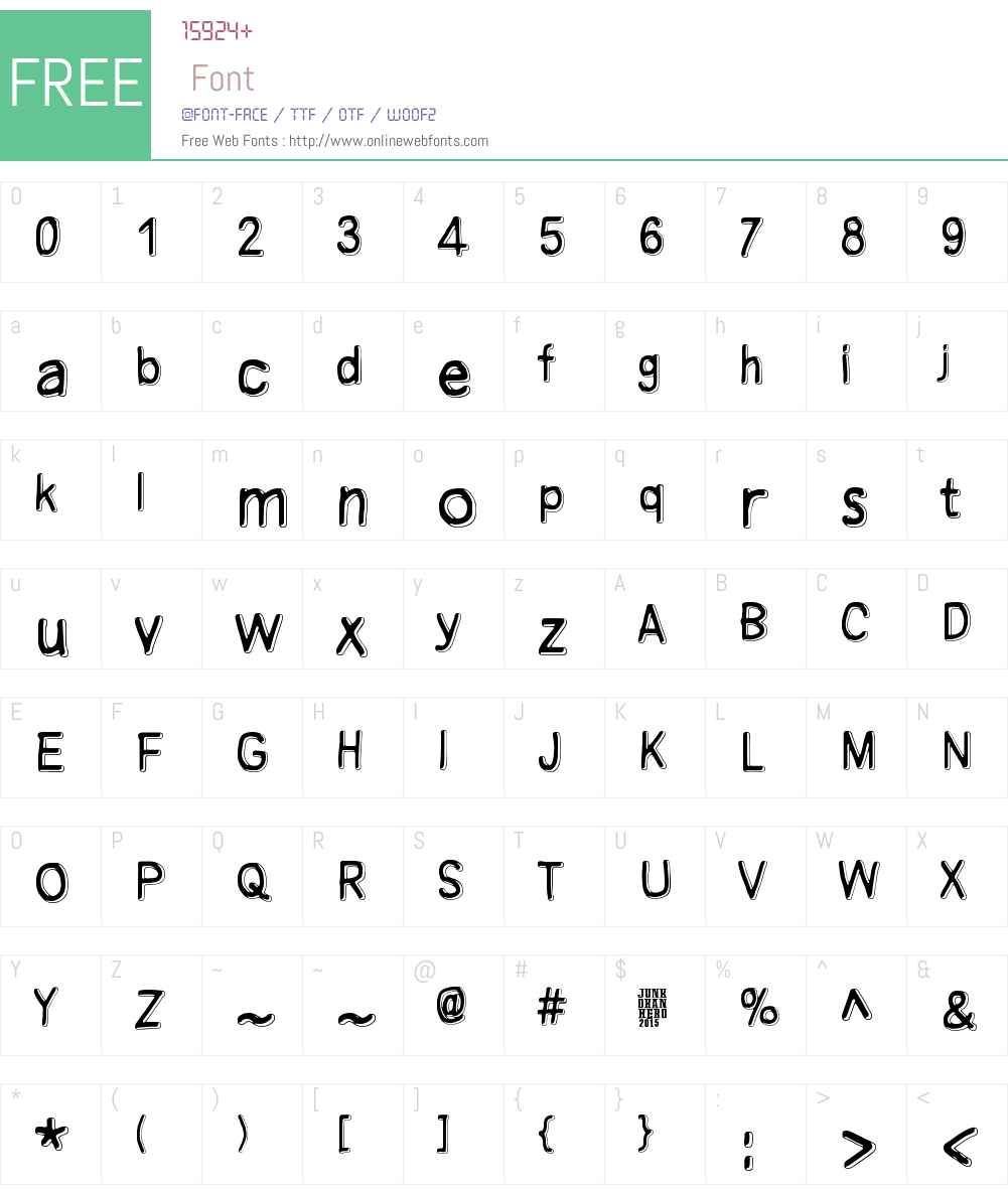 Manamansalo Font Screenshots