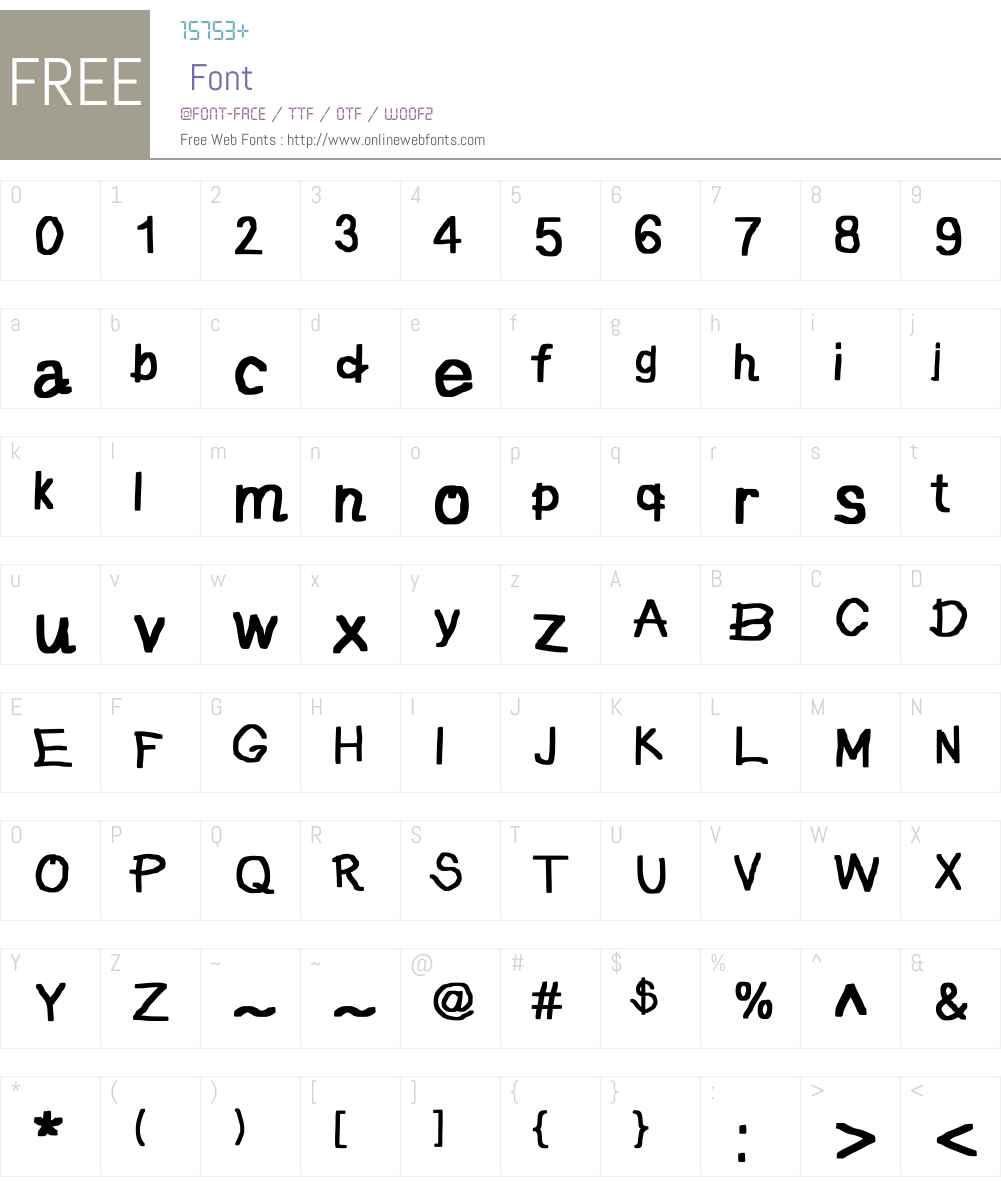 JD Pictura Font Screenshots