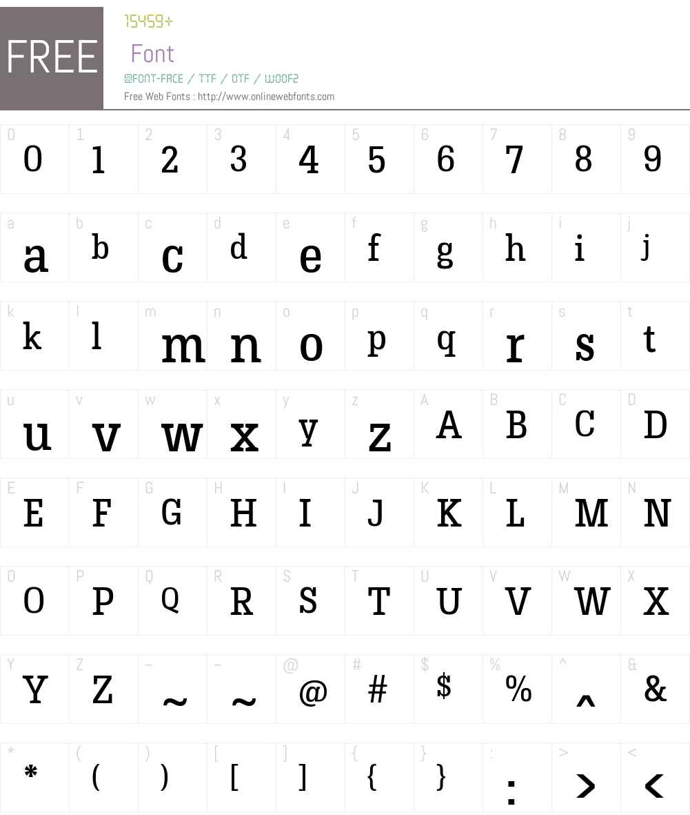 HermeneusOne Font Screenshots