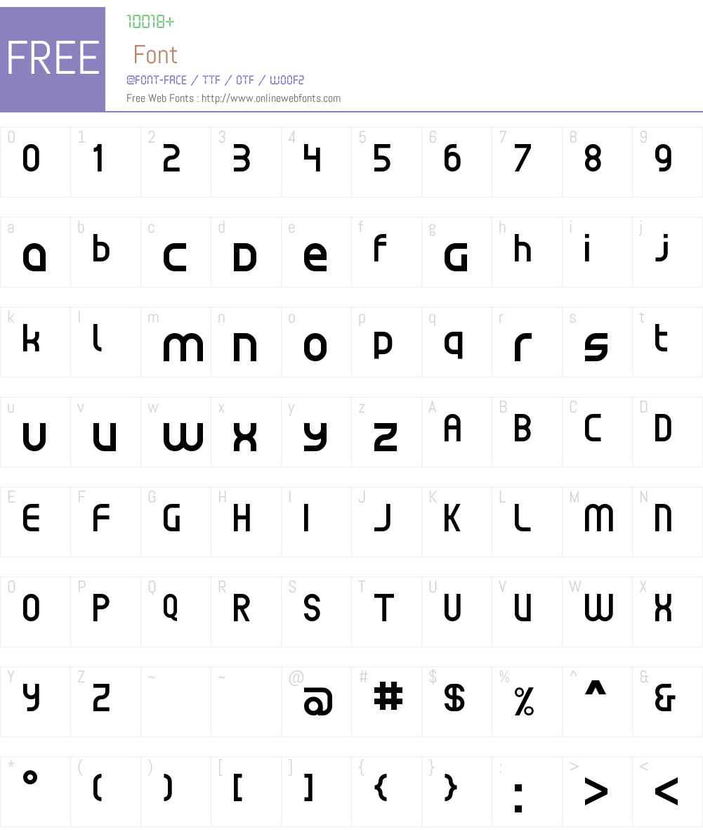 Klassiq NBP Font Screenshots