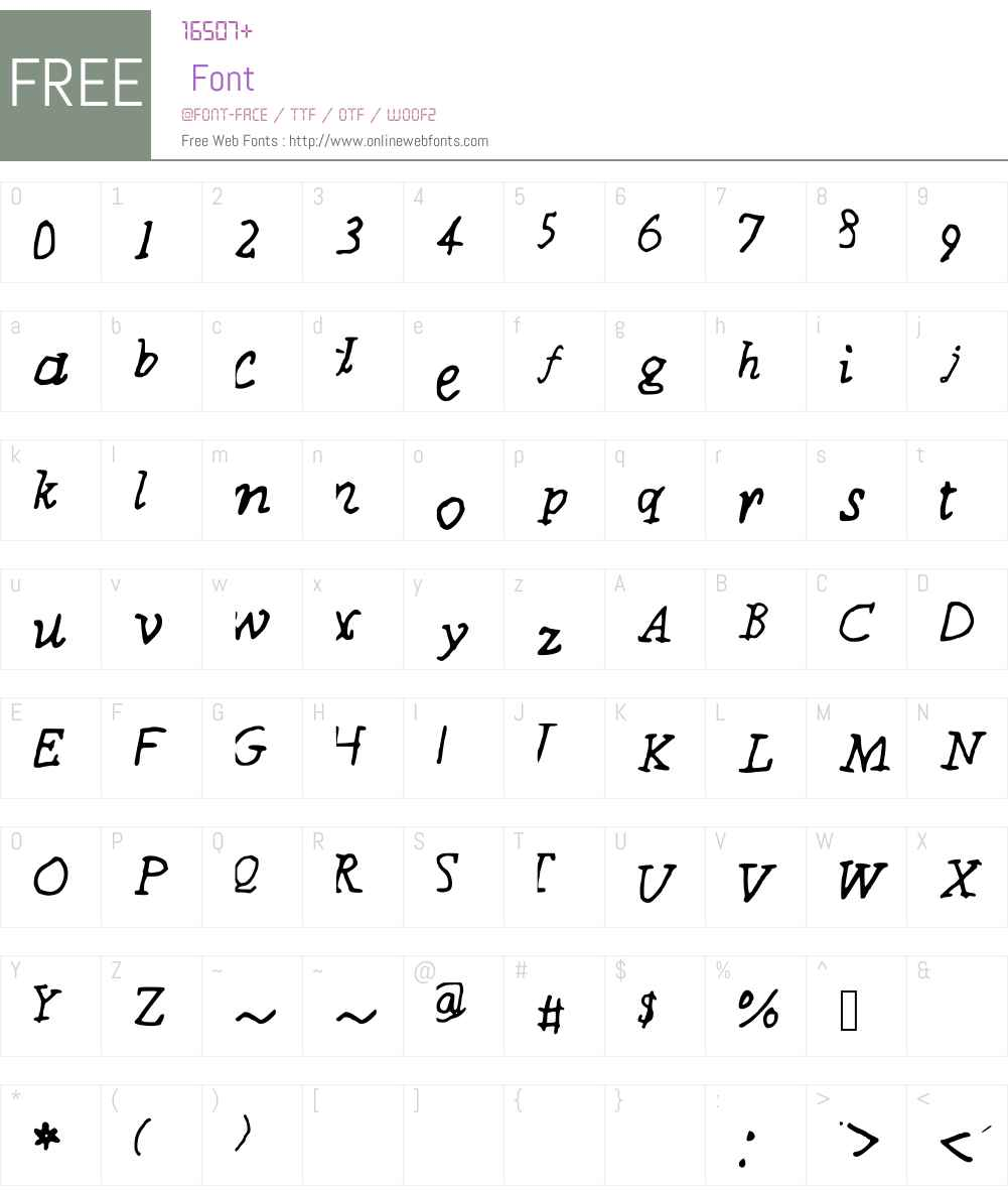 CoolFont Font Screenshots