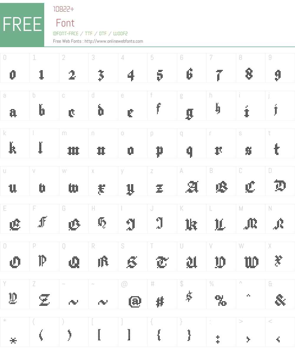 New Hildegard Std Font Screenshots
