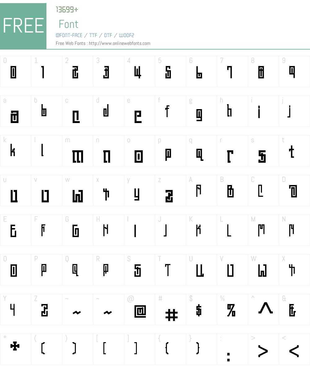 Ashtabula Font Screenshots