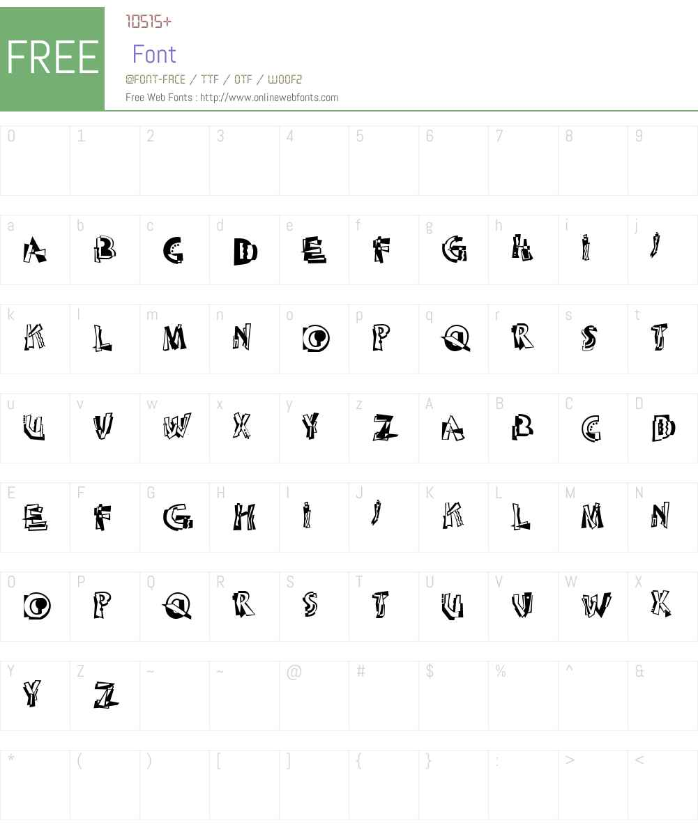 LinotypeAbstractW90 Font Screenshots