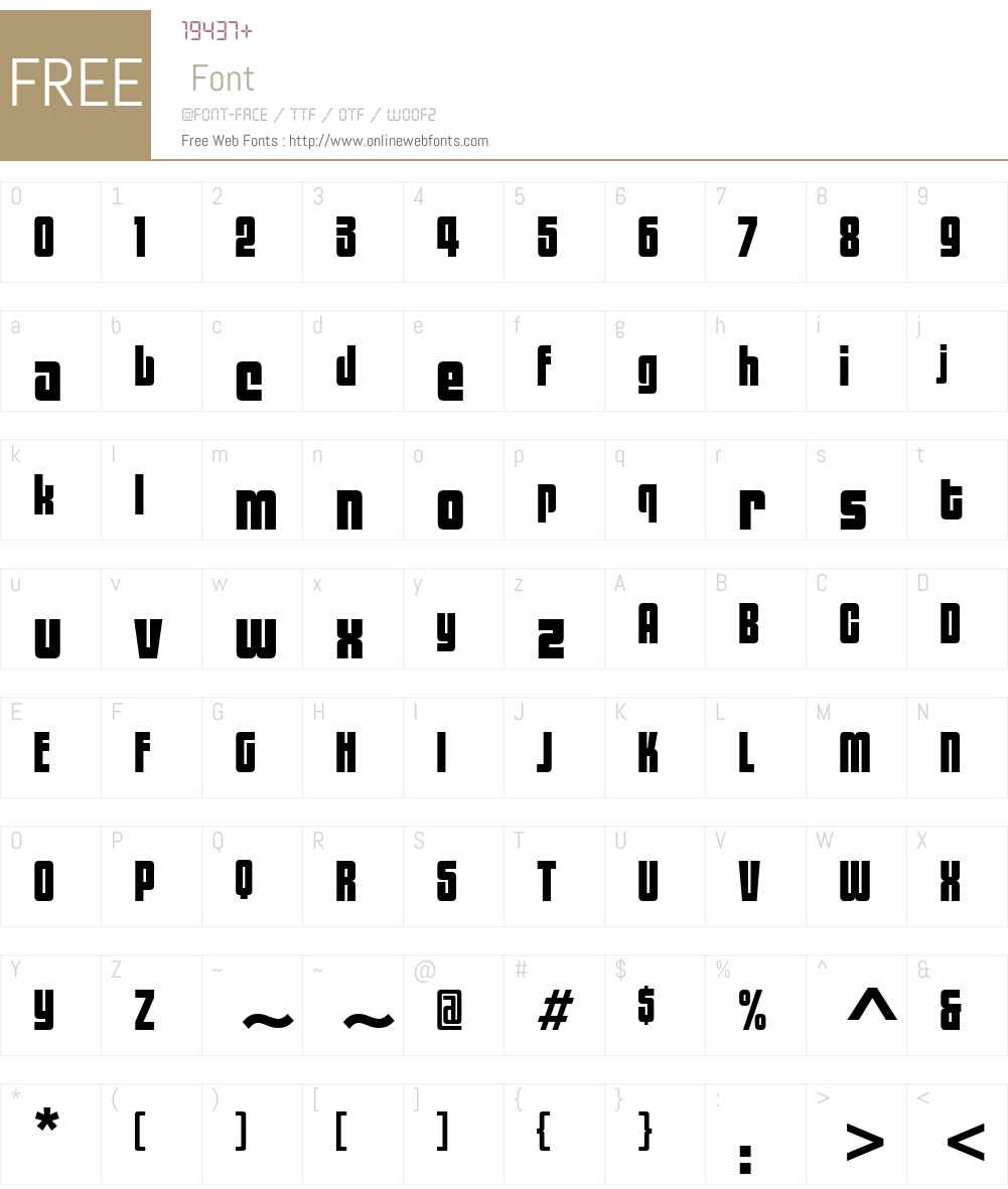 ITCBlackTulipW01-Regular Font Screenshots