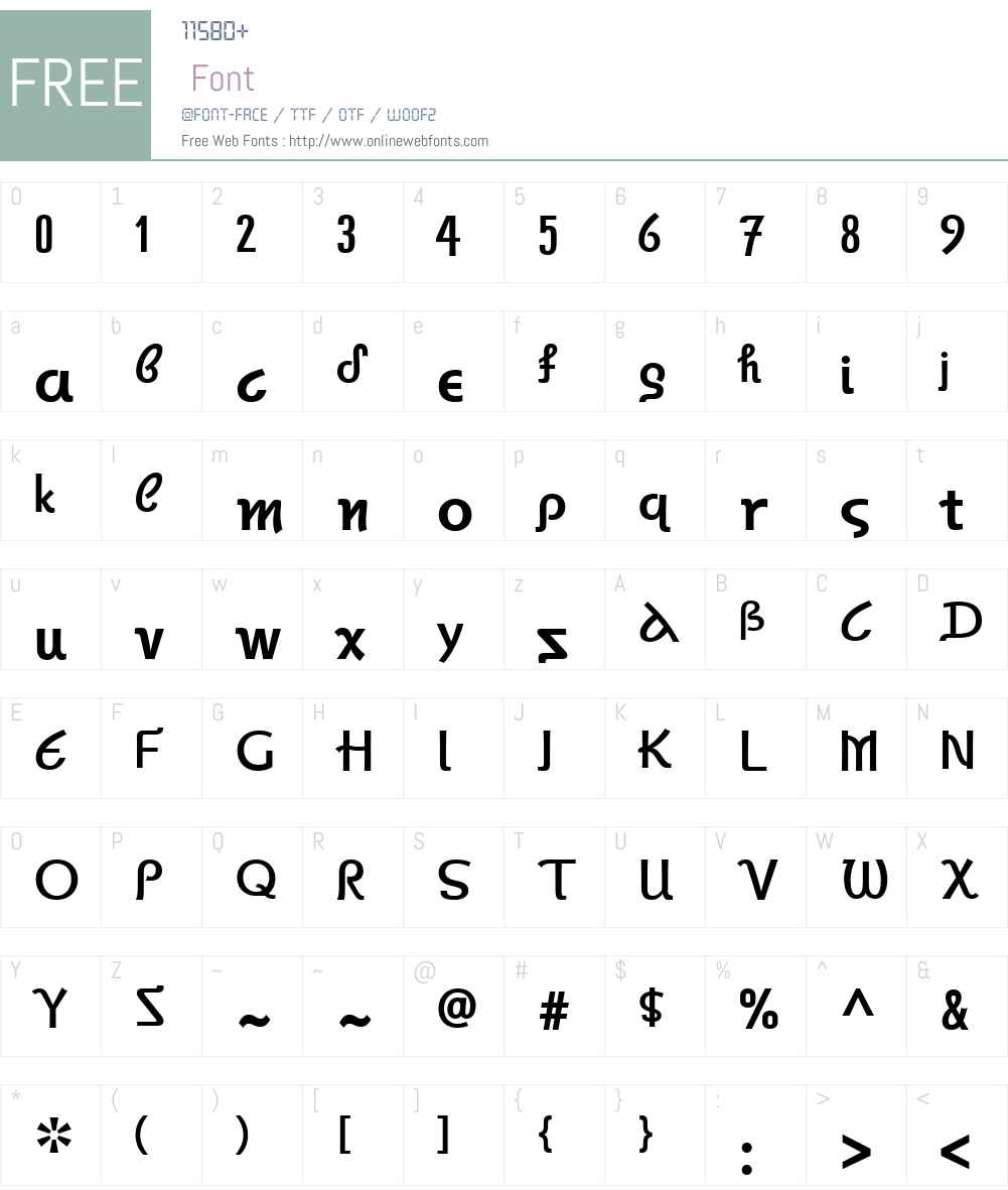 AutokratorikaW01-Bold Font Screenshots