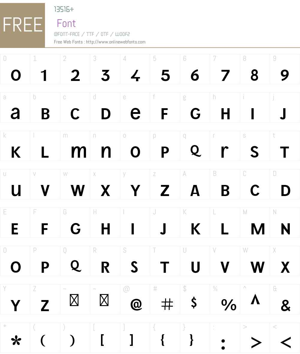 WienProUnicW00-Light Font Screenshots