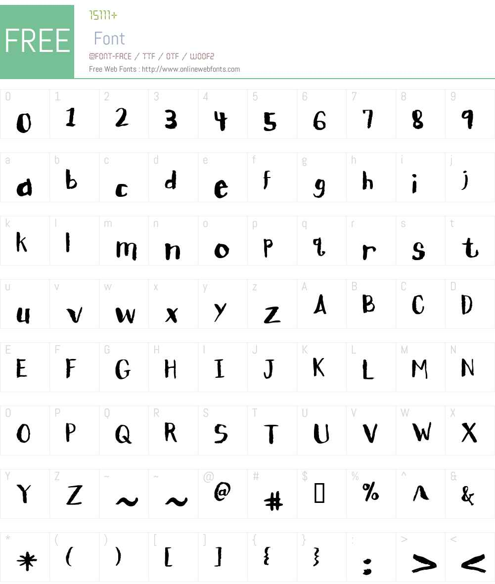 CK Pitch Font Screenshots
