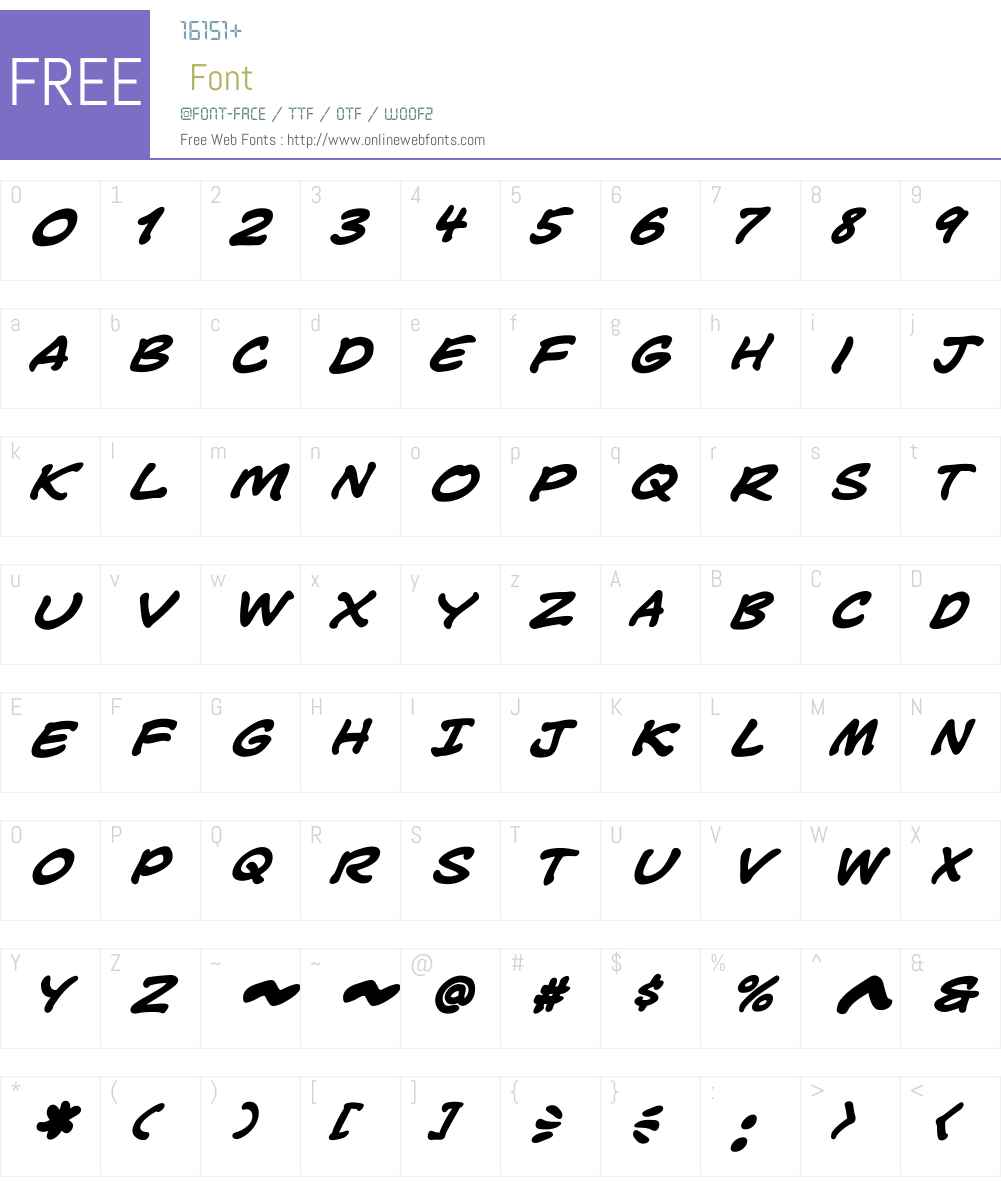 CCSeanPhillipsW00-BoldIt Font Screenshots