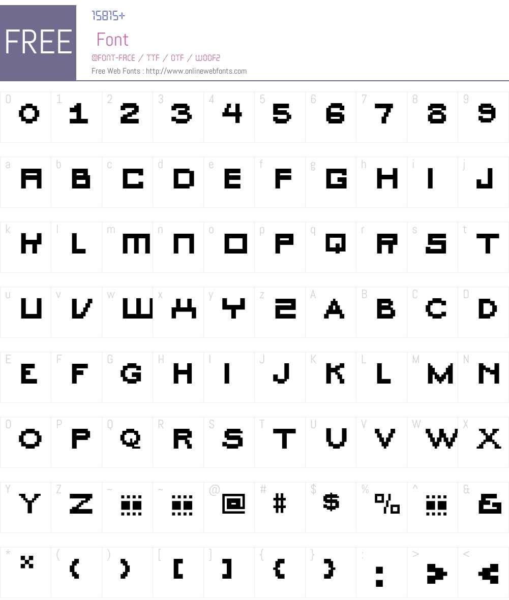 Fibula Font Screenshots