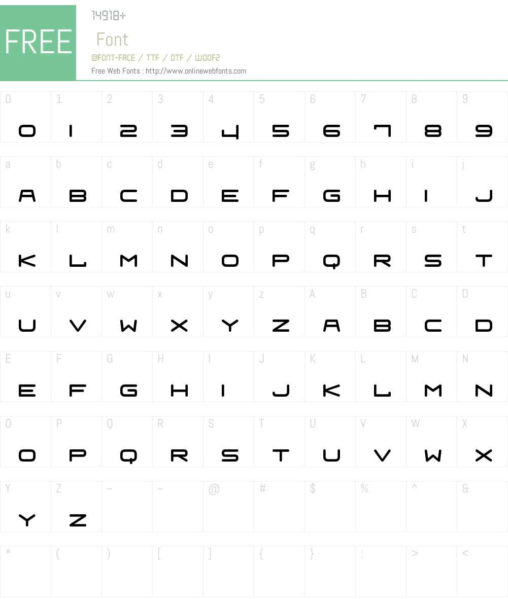Fraulein Font Screenshots