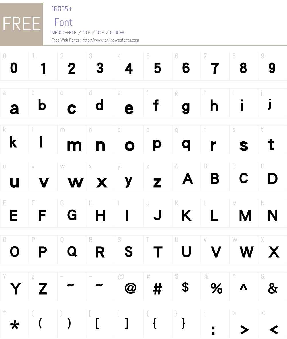 DFPHeiW9-GB Font Screenshots