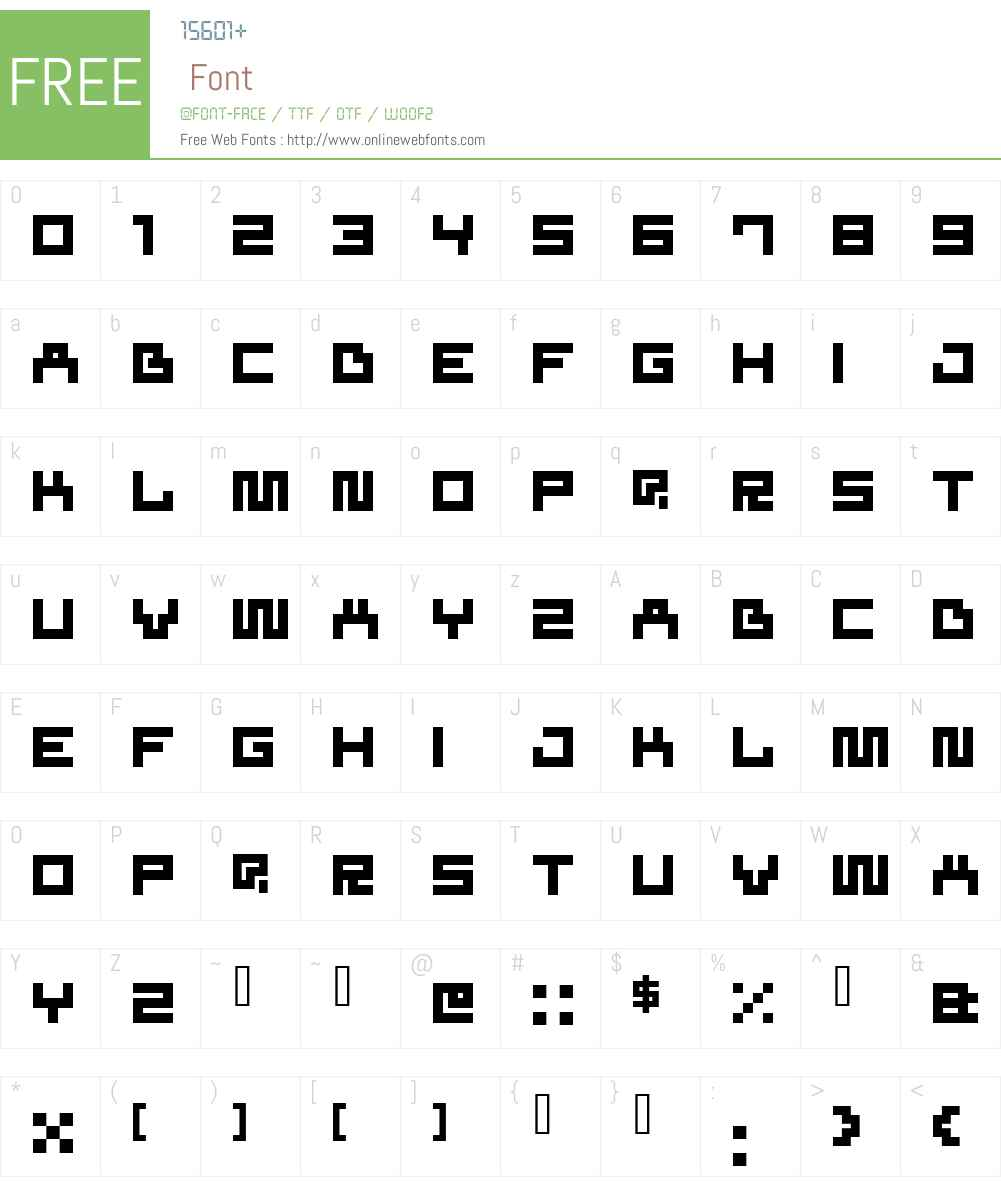 superfluid Font Screenshots