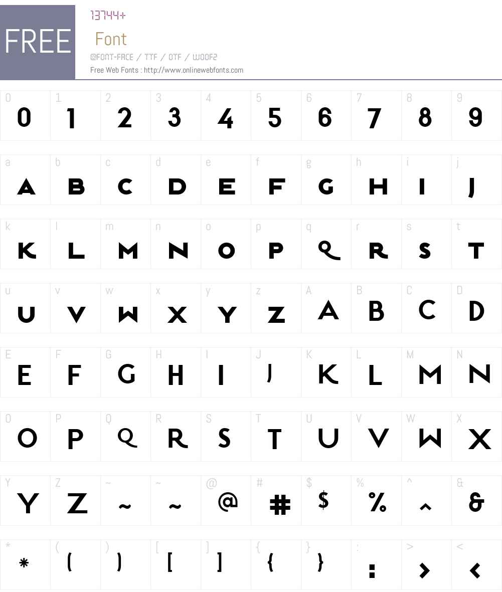 EstiloW01SC-Bold Font Screenshots