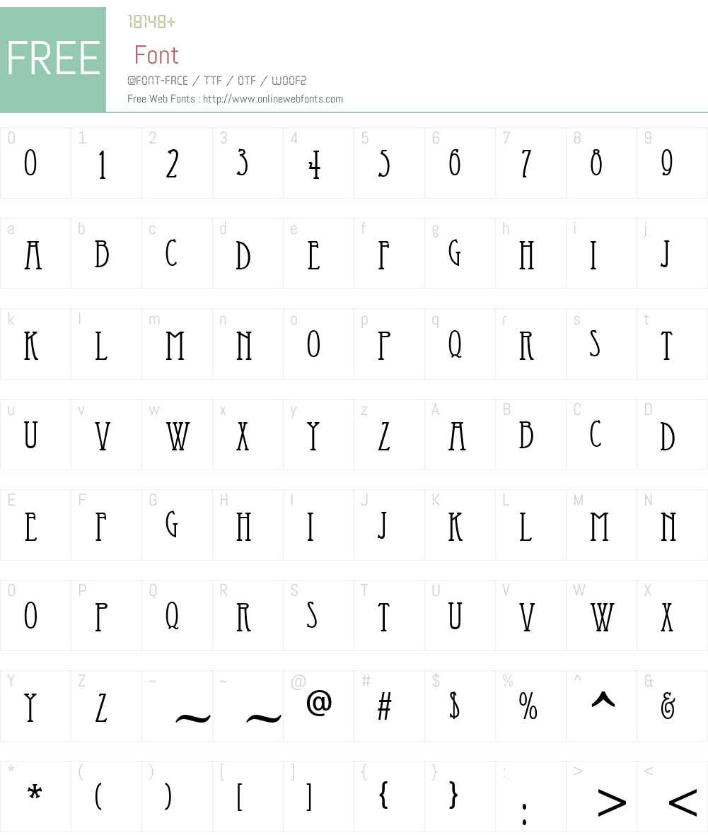Economicals Font Screenshots