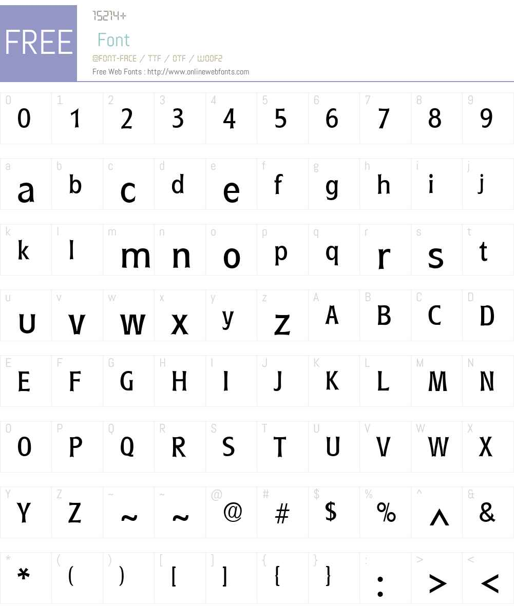 Roundest Font Screenshots
