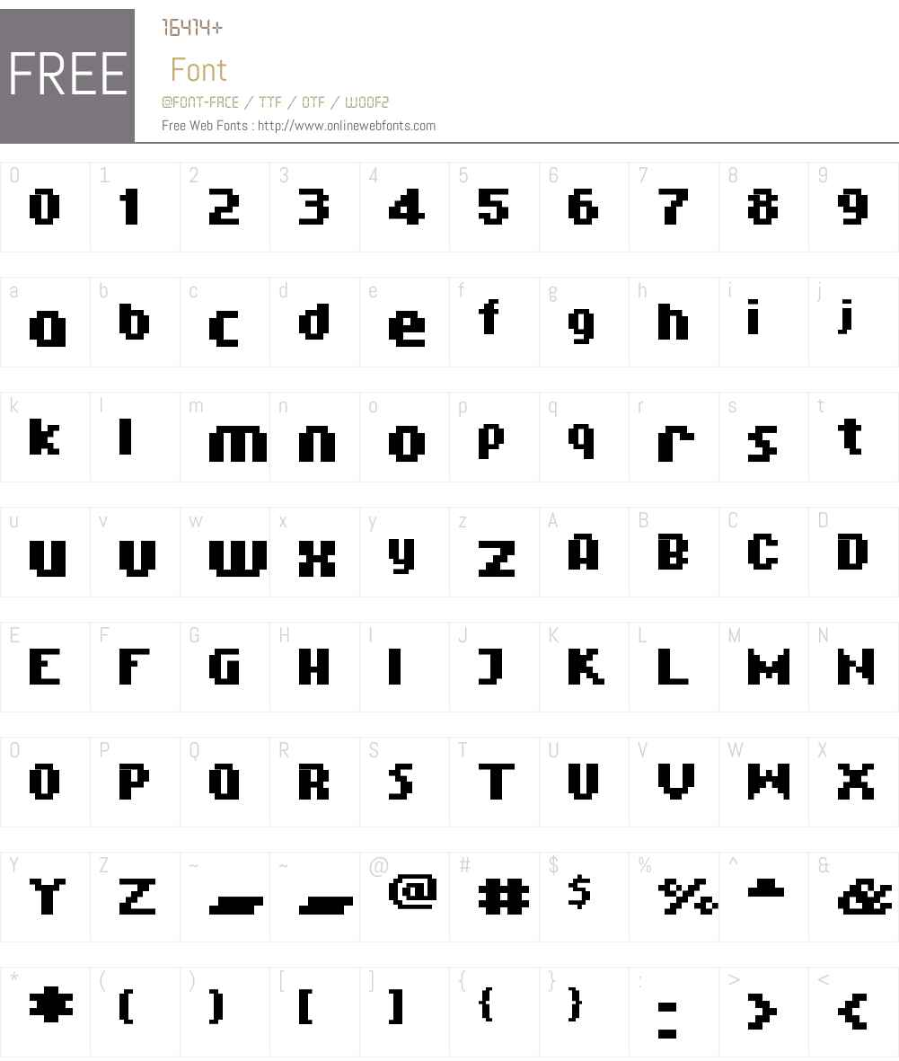 01Aquatix Font Screenshots