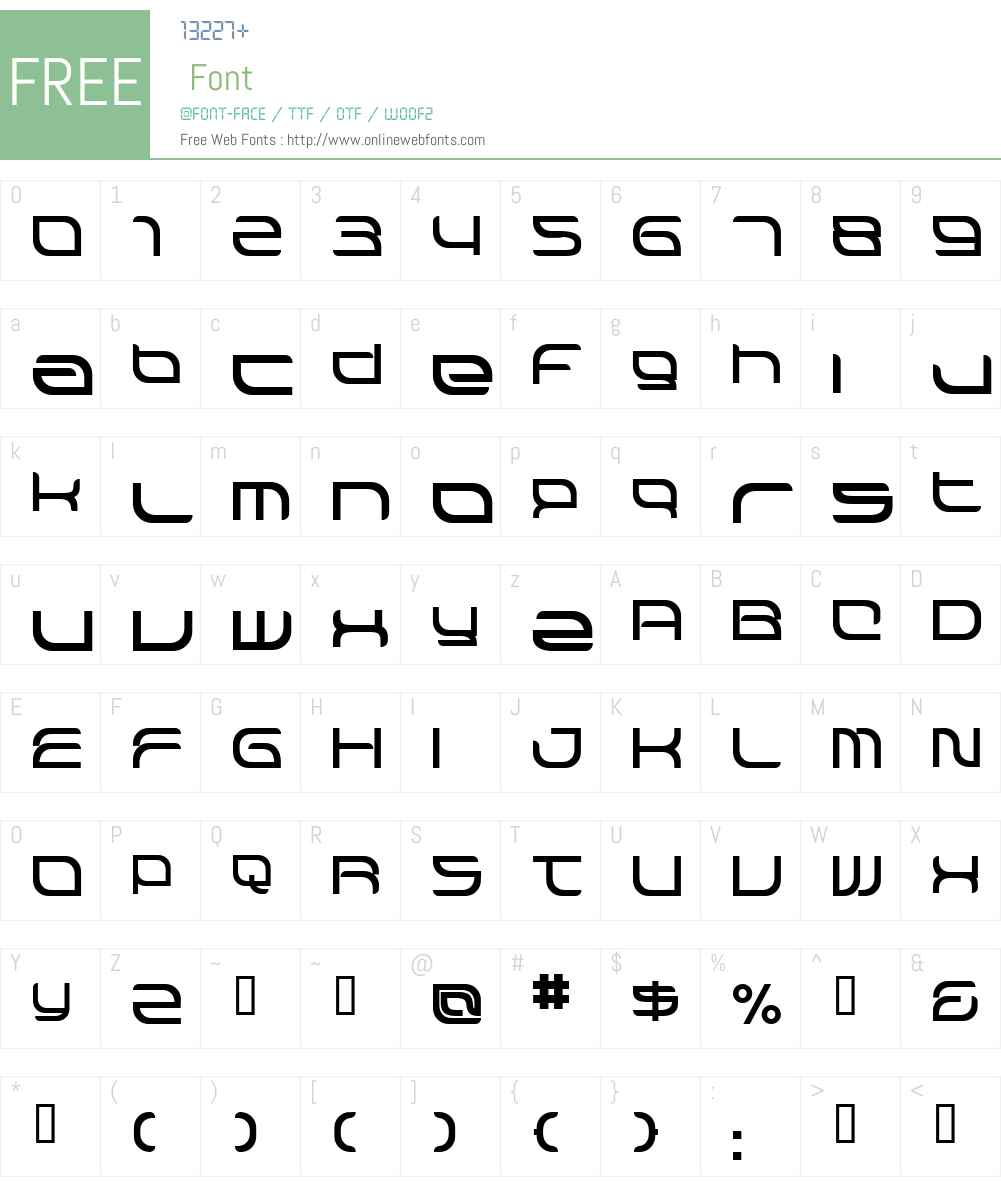 Hyperion Font Screenshots