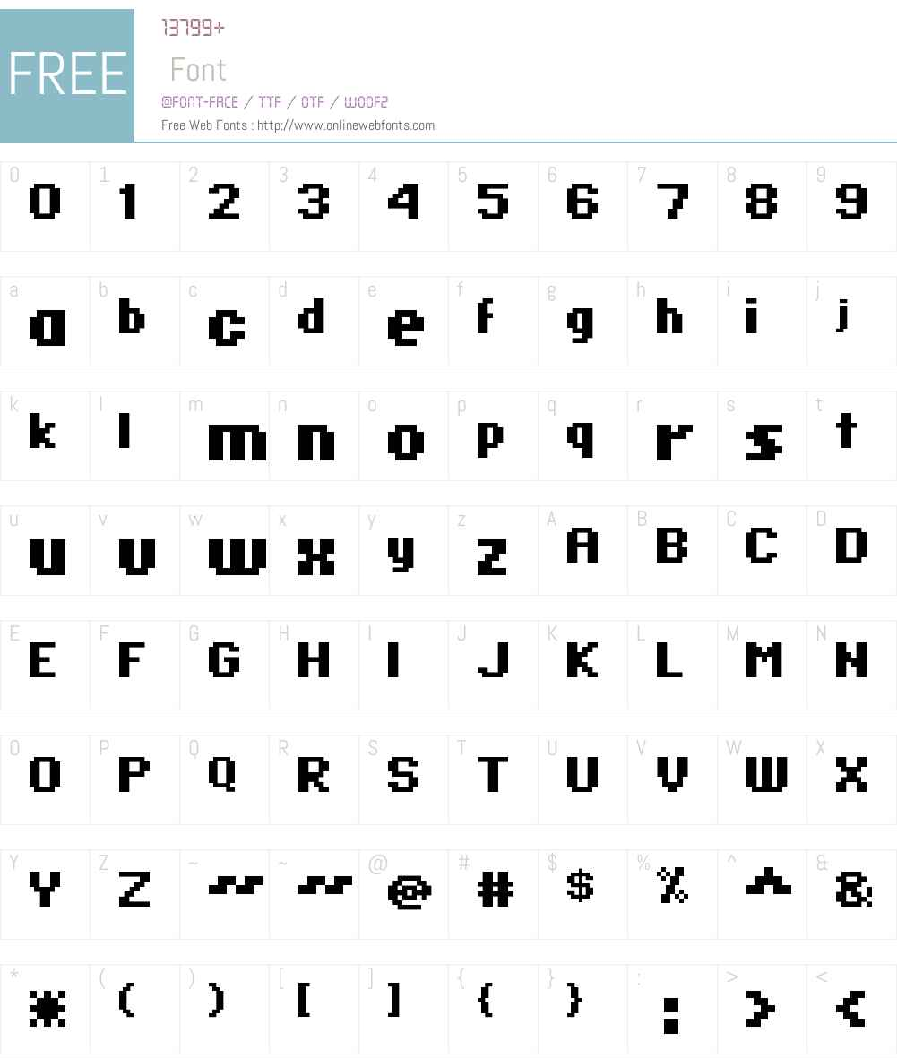 standard 07_65 Font Screenshots