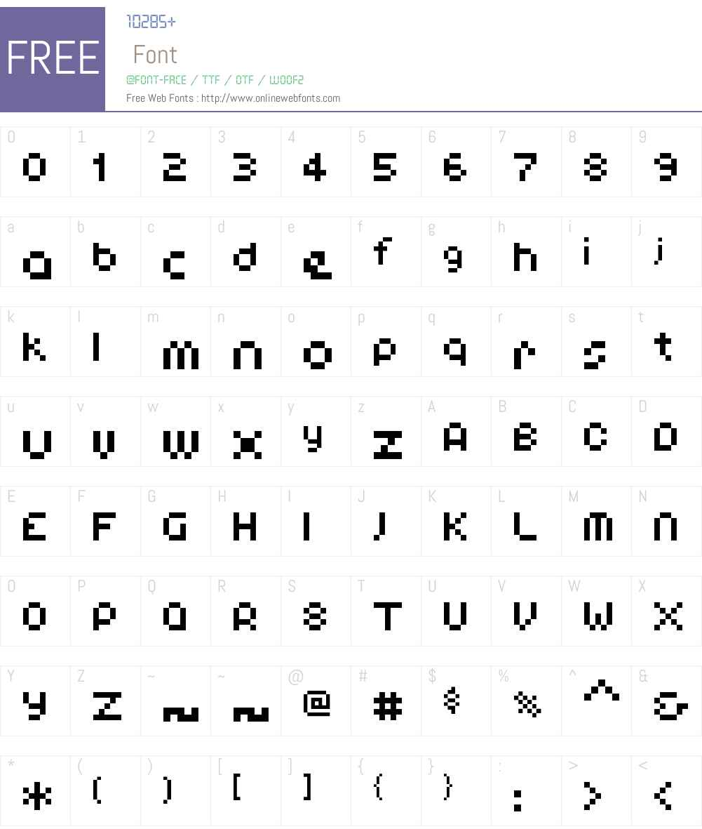 00Antix Font Screenshots