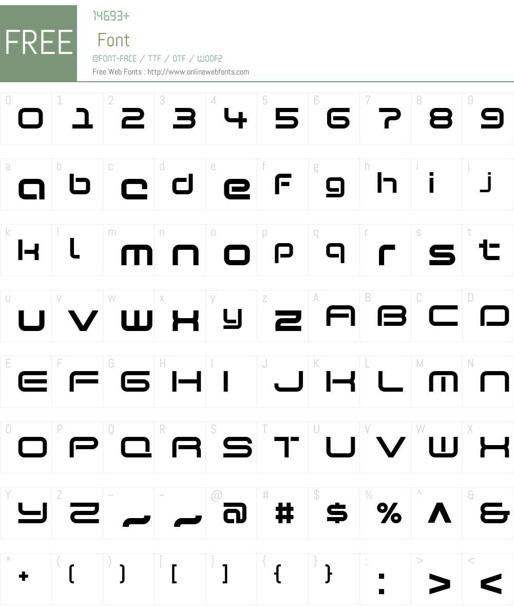 SBVibeW00-Bold Font Screenshots