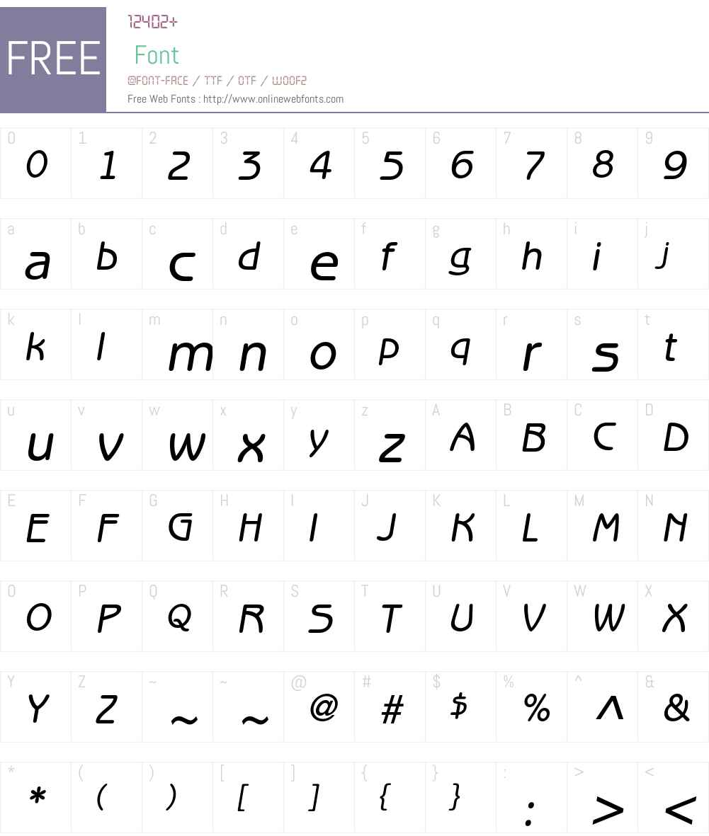 ITC Benguiat Gothic LT Font Screenshots
