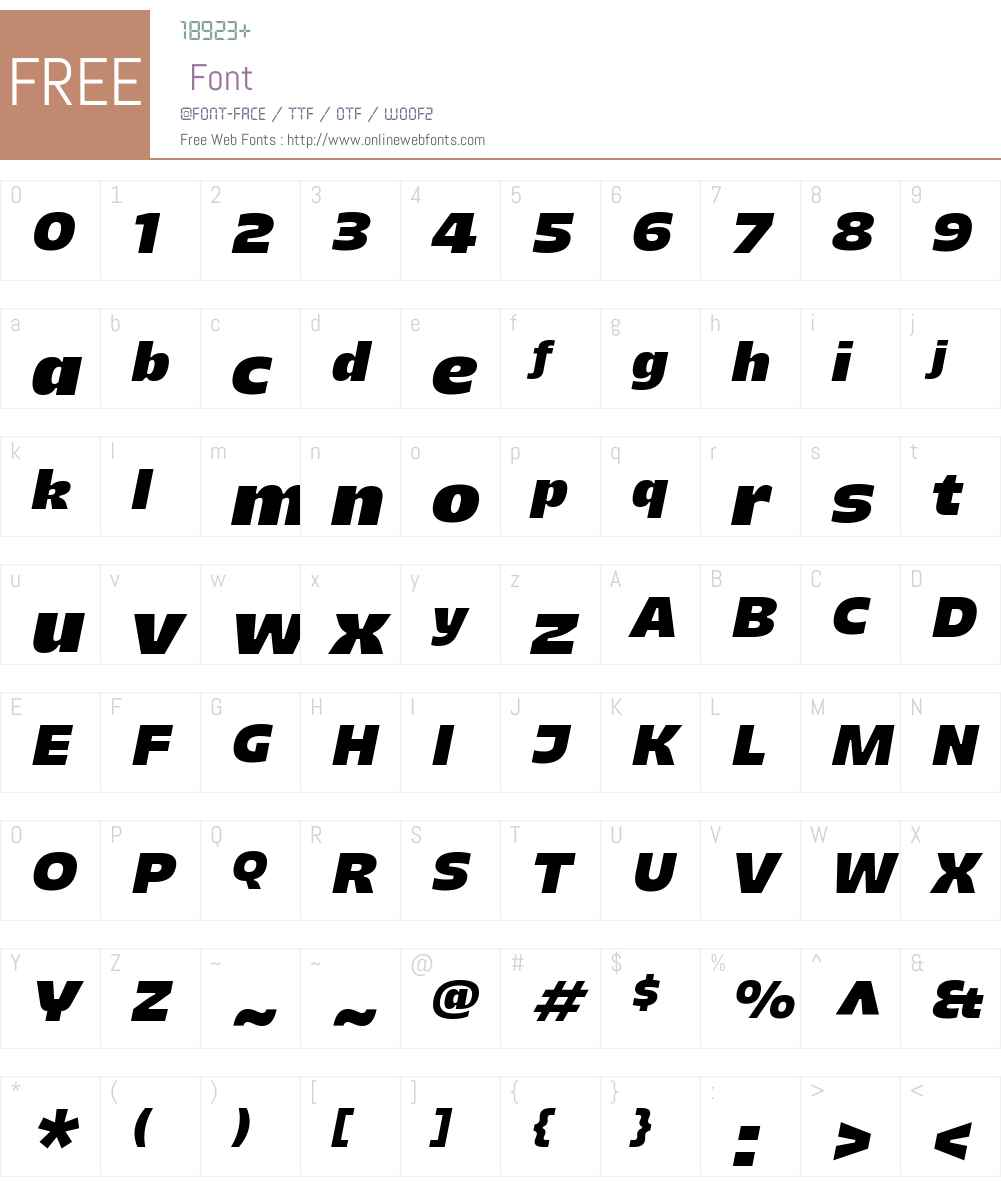Majoris Font Screenshots