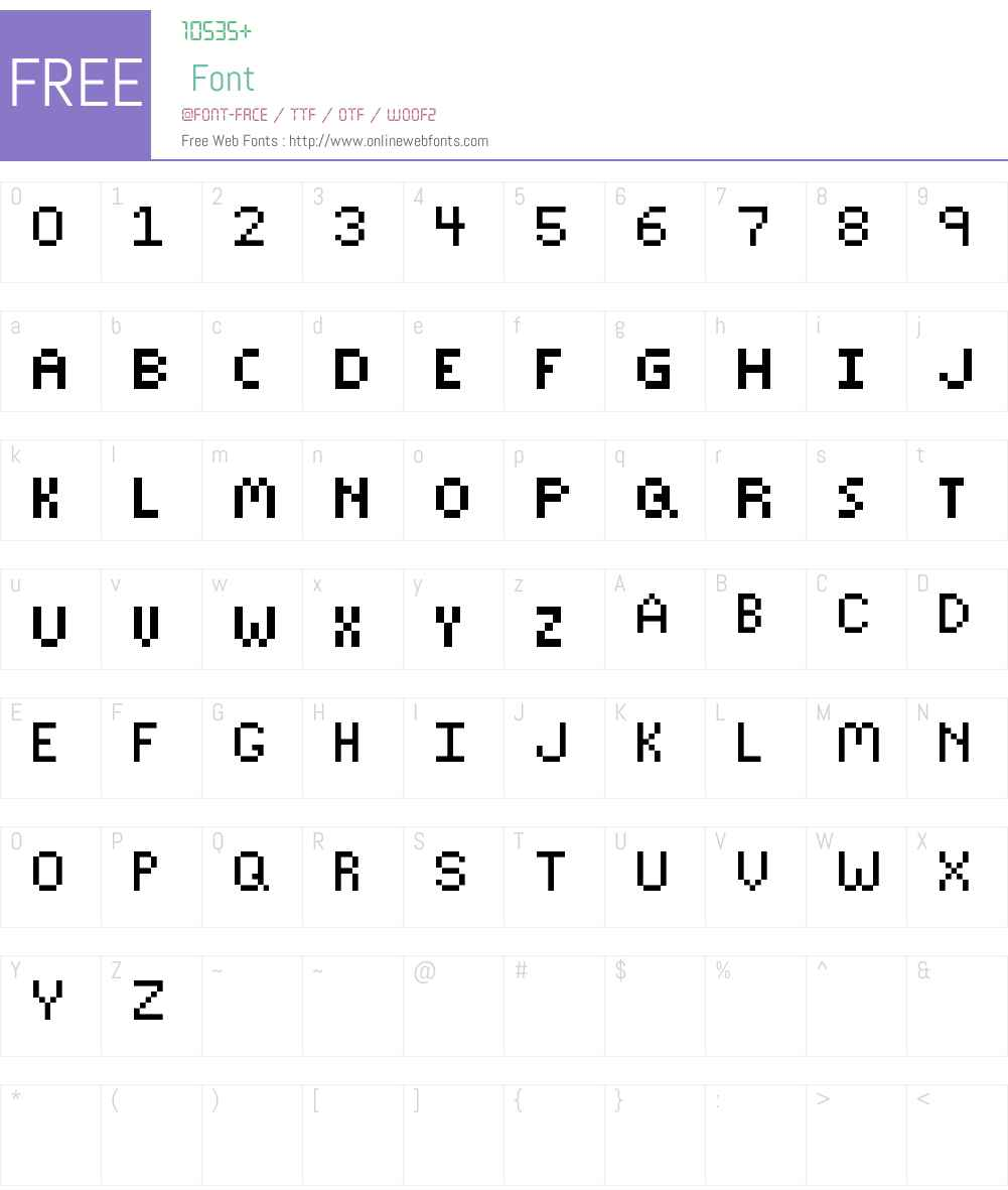 Sparkly-Font Font Screenshots